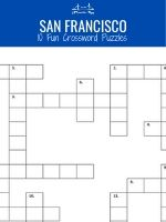 10 Crossword Puzzles San Francisco