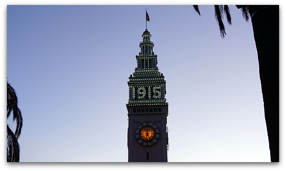 1915 Ferry Building Lights