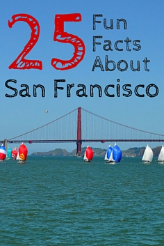 25 Things You Probably Did Not Know About San Francisco