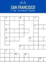 Crossword Puzzle Book of 5