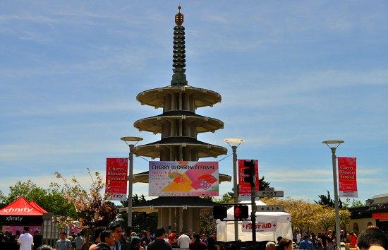 sf peace pagoda