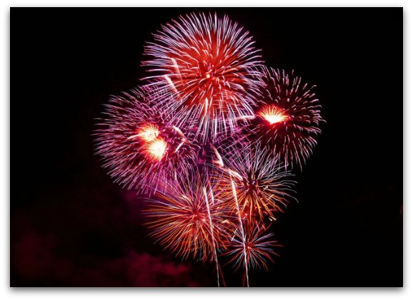 Fireworks SF NYE