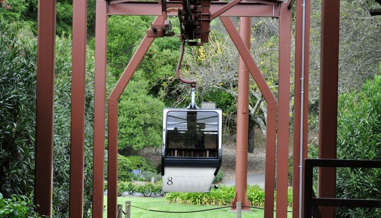 Aerial Tram at Sterling Vineyards