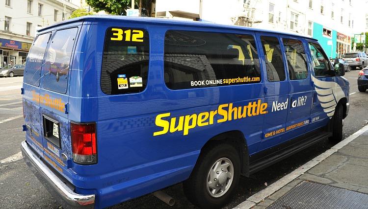 Airport Shuttle In San Francisco Sfo Transit