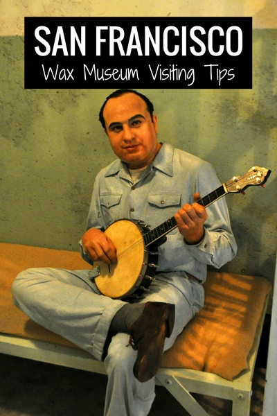 Al Capone at the Wax Museum in San Francisco