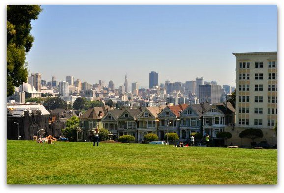 alamo square painted ladies