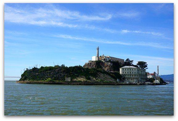 Alcatraz in February in SF