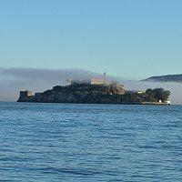 Alcatraz in Fog