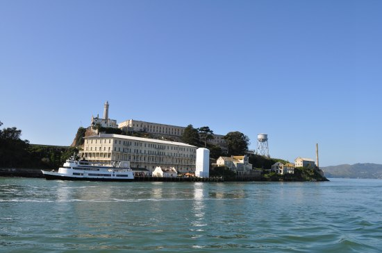 alcatraz island south side
