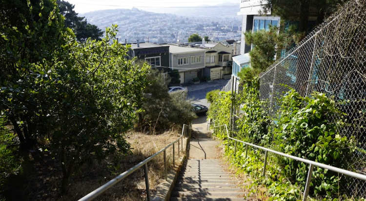 Amatista Lane Stairs