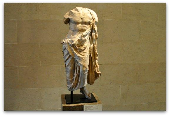 torso statue legion of honor