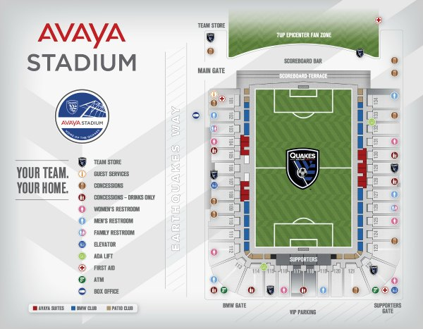 Avaya Stadium in San Jose