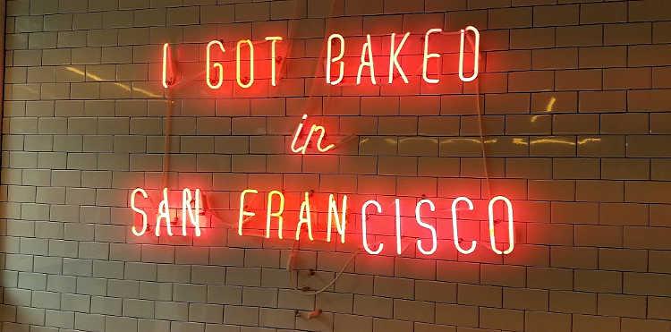 Baked in SF Sign Instagram