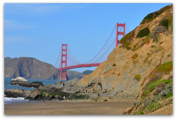 Golden Gate Bridge The San Francisco Beaches