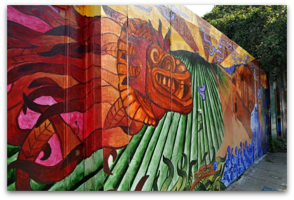 The perfect day in the mission in san francisco for A perfect day mural