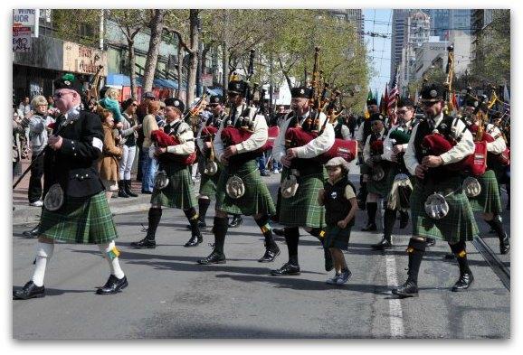 band saint pattys day parade