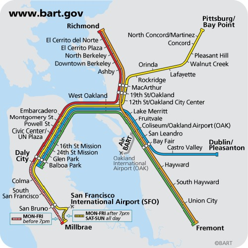 bart san francisco