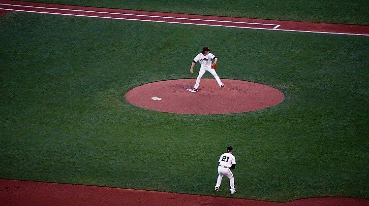 Baseball at AT&T Park