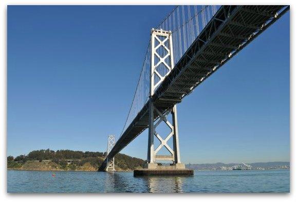 bay bridge in sf