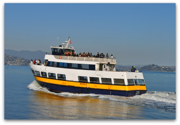 ferry on the SF bay