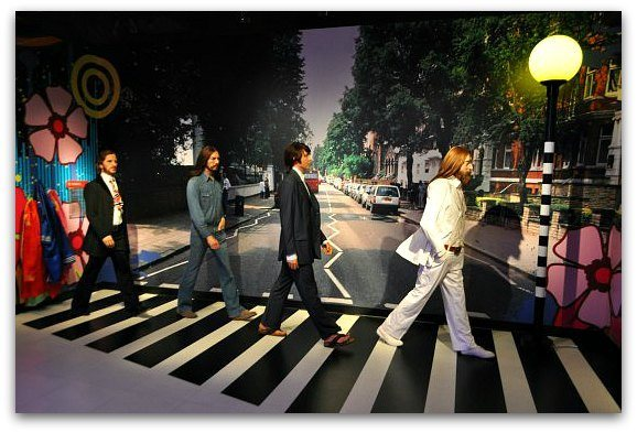 beatles in museum