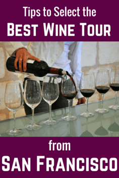 Top Wine Tours from San Francisco