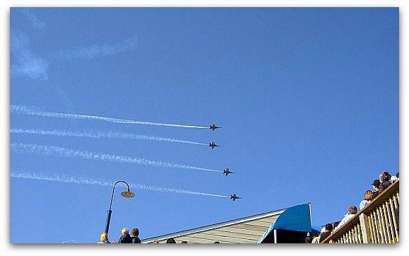 Blue Angels in SF