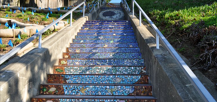 Blue Staircase SF