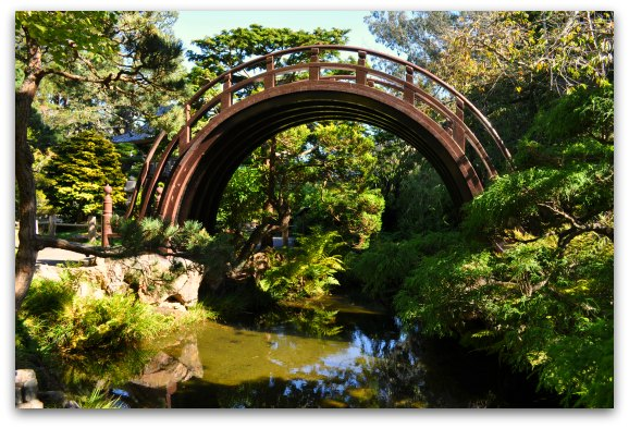 bridge japanese tea garden san francisco