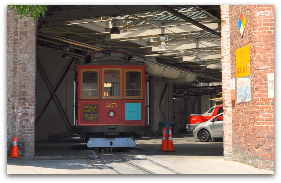 san francisco cable car barn