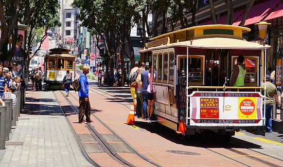 Cable Car Turnaround in SF