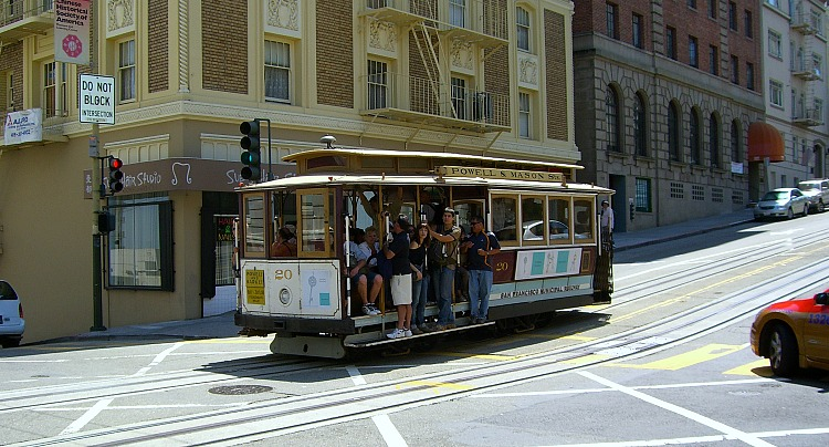 California Cable Car SF