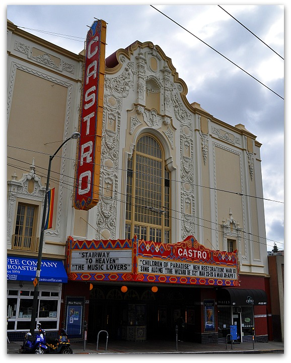 Castro Theater in SF's LGBT District