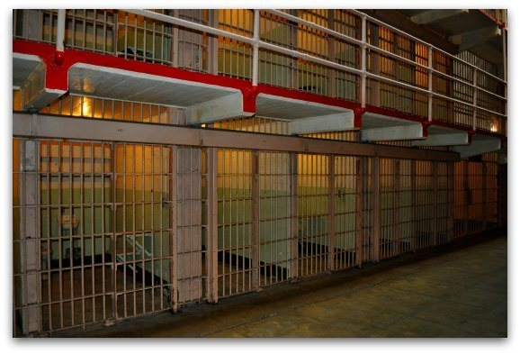 cells of alcatraz