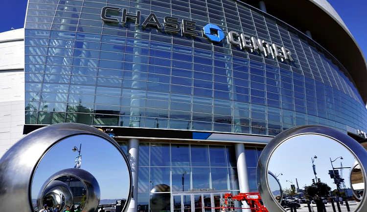 Chase Center Main Entrance