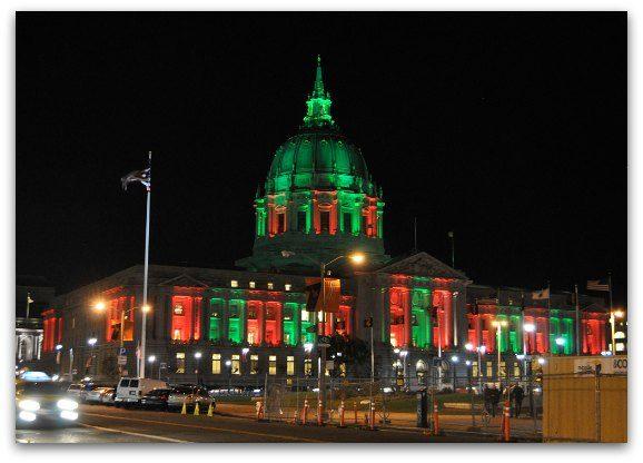 City Hall Christmas Lights