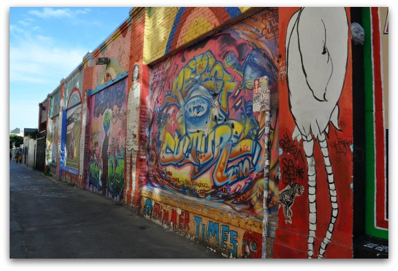 12:30pm: Admire The Murals In Clarion Alley