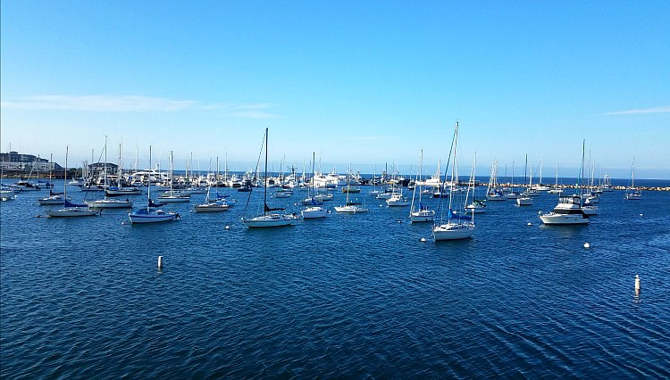 Clear Spring Day in Monterey