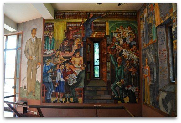 murals coit tower