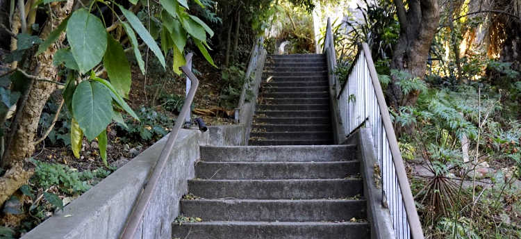 Concrete Stairs in San Francisco