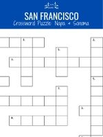 Napa & Sonoma Crossword Puzzle Thumbnail