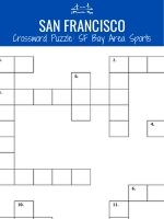 SF Bay Area Sports Crossword Thumbnail