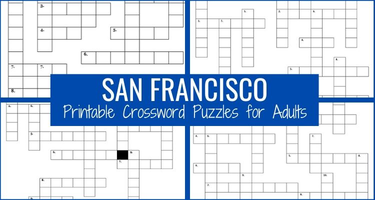 Crossword Puzzles for Adults Graphic