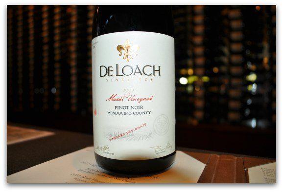 deloach wine bottle