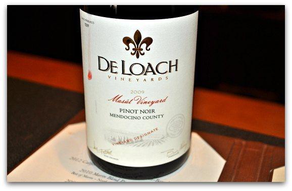DeLoach Wine Tasting