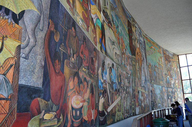 Diego Rivera at City College