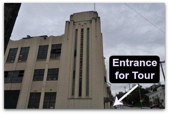 Entrance to tour