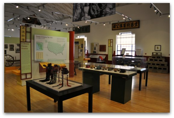 exhibits in chinatown museum
