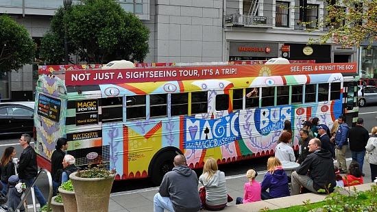 Colorful Magic Bus