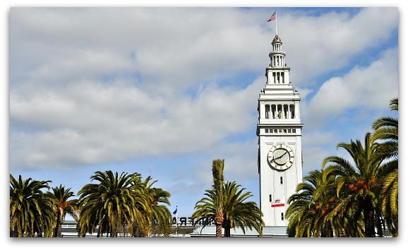 Ferry Building from Market Street